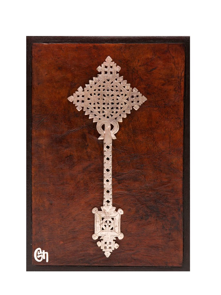 Contemporary Ethiopian Gondor Processional Cross
