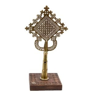 Contemporary Ethiopian Gonder Processional Cross