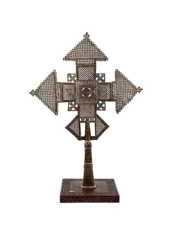 Contemporary Ethiopian Lalibela Processional Cross